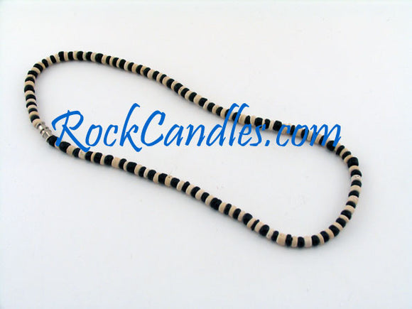 Black & White Coco Alternating Necklace
