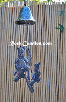 Bell Top Bear Pewter Chime