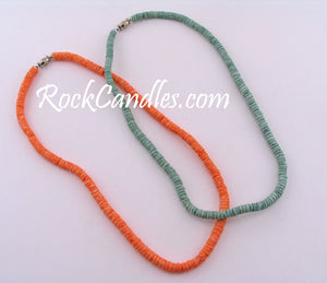 "18"" Clam Colored Shell Necklace"