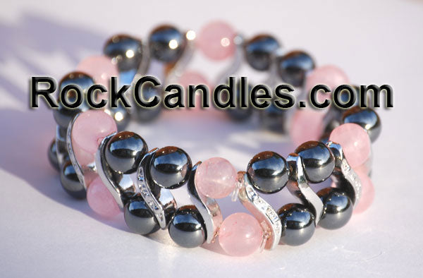 Magnetic Hematite Fancy Bracelet