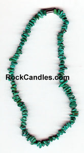"16"" Chip China Turquoise Necklace"