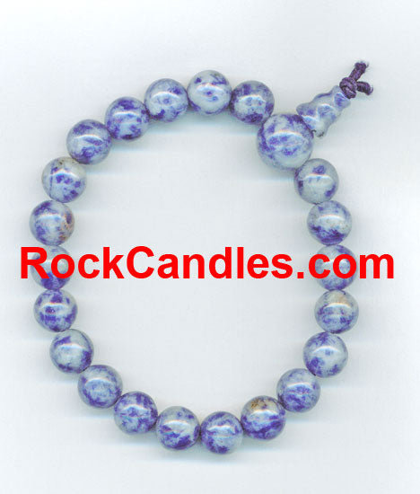 Denim Lapis Power Bead Bracelet