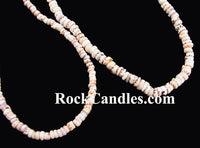 "18"" Tiger puka shell necklace"