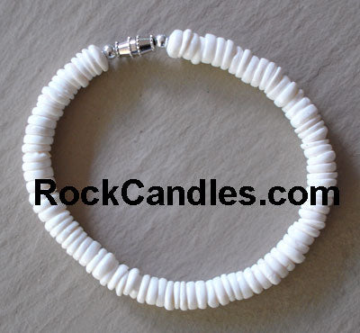 Whole Puka Shell Bracelet