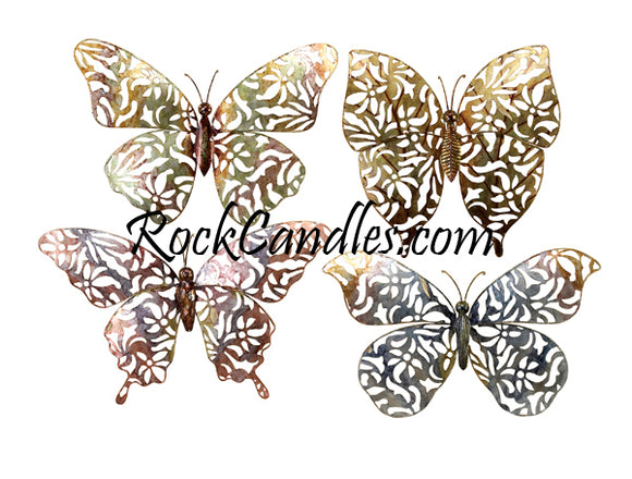 Metal Butterfly Decor