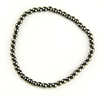 Hematite Fancy Bracelet Round 6mm