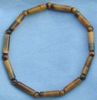 Fancy Tiger Eye Cylinder Bracelet