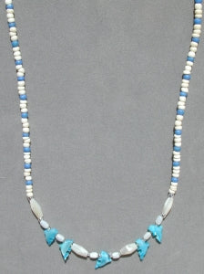 Dolphin Shell Necklace 18""