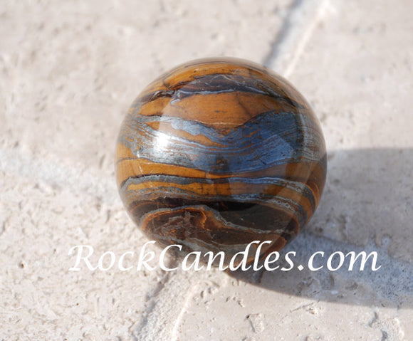 Tiger Eye Sphere 45mm