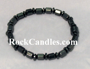 Magnetic Hematite Shapes Bracelet