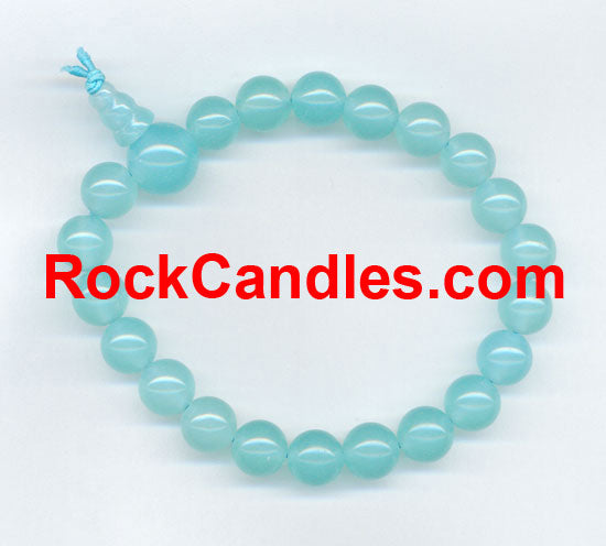 Larimar Power Bead Bracelet
