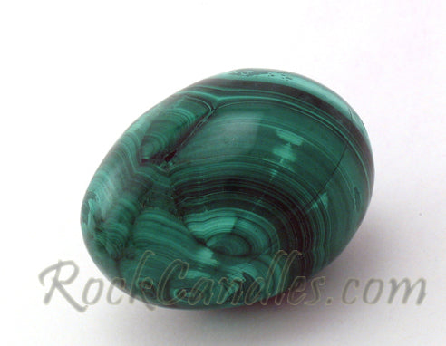 Malachite Polished Egg
