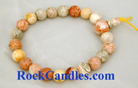 Crazy Agate Power Bead Bracelet