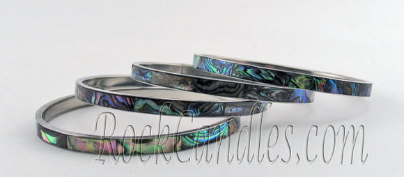 Paua Shell bangles - Large