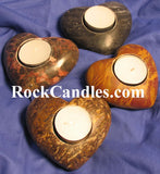 Marble Heart Tea Light Holder