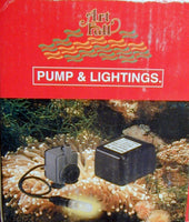 Lighted Fountain pump