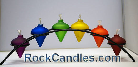 Rainbow Arch Candle Holder