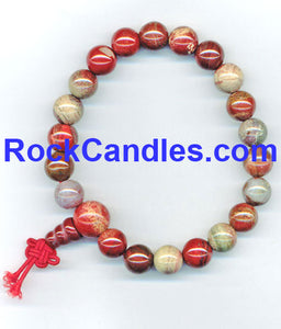 Rainbow Jasper Power Bead Bracelet