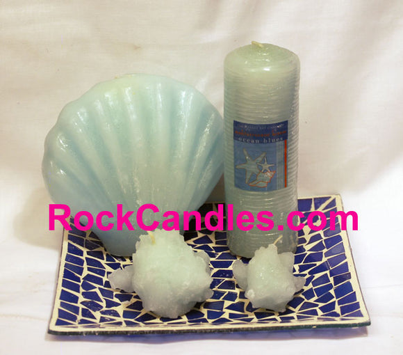 Ocean Blues Candles Set - Closeout