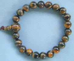 Blue Tiger Eye Power Bead Bracelet