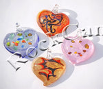 Assorted Heart Foil Pendant