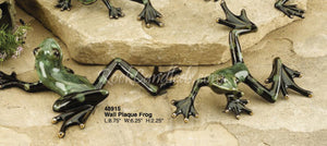 Porcelain Wall Plaque Frog