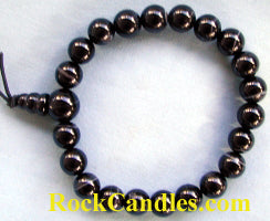 Zebra Agate Power Bead Bracelet