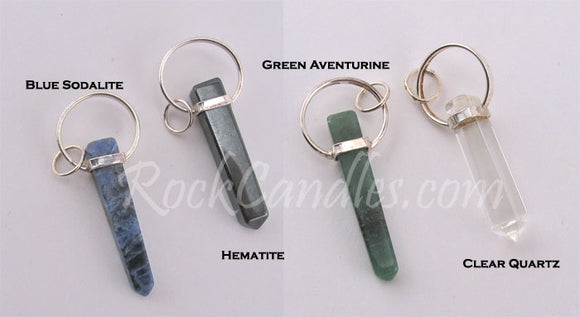 Crystal Point Pendants