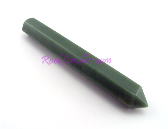 Extra-Large Green Aventurine Massage Wand