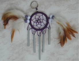 Dream Catcher Chimes Keyring