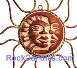 Sun and Moon Eclipse - Wire Pottery
