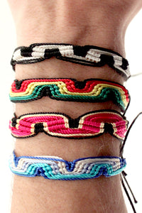 Neo Tribesman Colorful Bracelet