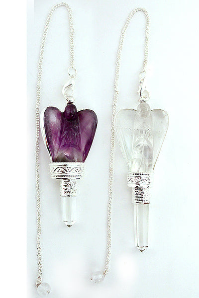 Crystal Angel Point Pendulum