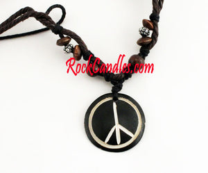 Peace Tribal Necklace