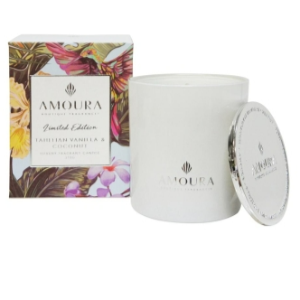 Tahitian Vanilla & Coconut Luxury Soy Candle