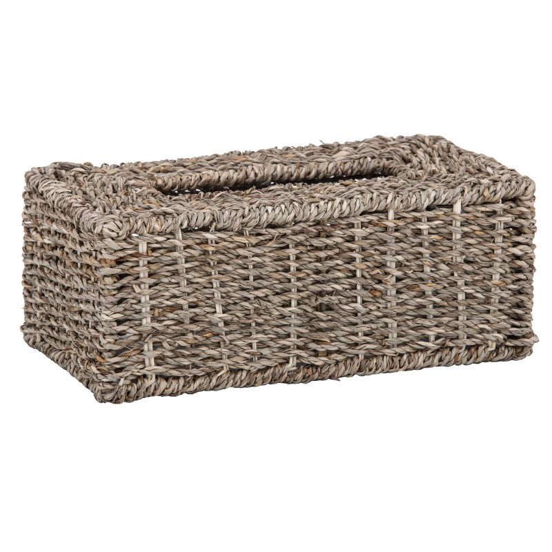 Rattan Tissue Box Rectangle