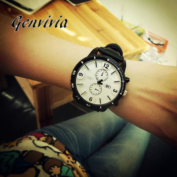 GENVIVIA watches women fashion watch 2017 women dresses ladies designer watches luxury watch women 2017 Dress&337