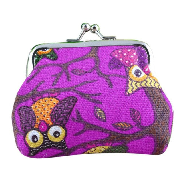 Wallets Lovely Style Lady Owl - newchic store