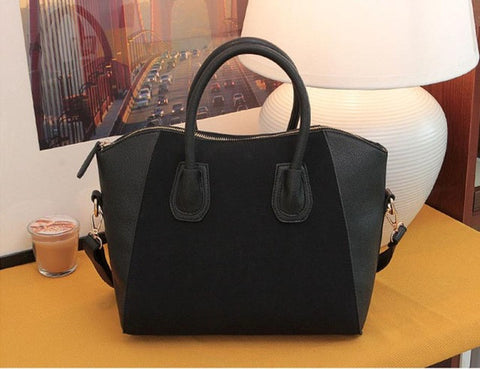 Image of Womens Leather Shoulder Bag Satchel Handbag - newchic store