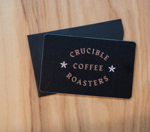 Physical Crucible Gift Card