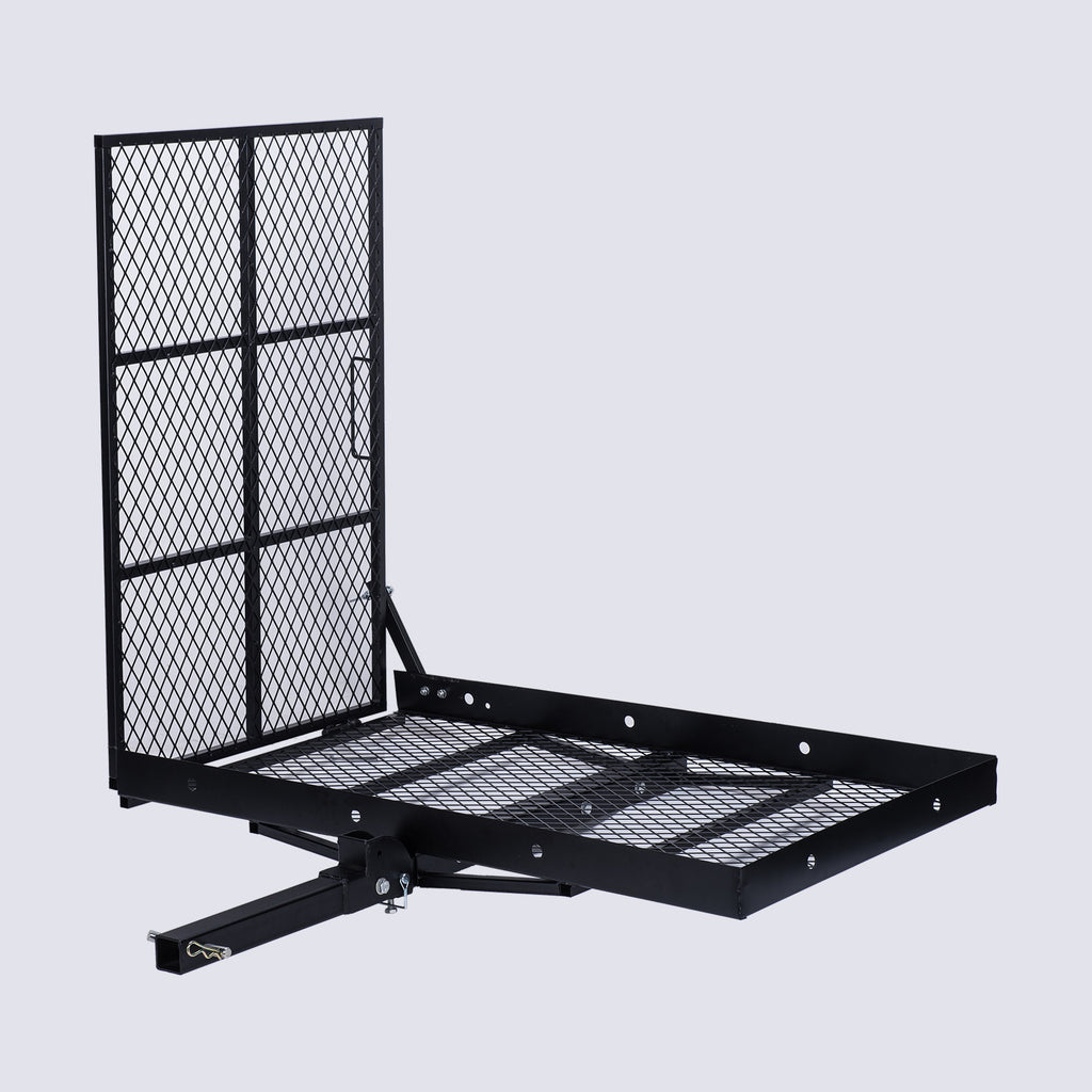 Cargo Carrier Scooter Mobility Carrier Hitch Trailer w/Loading Ramp - Kaiezen