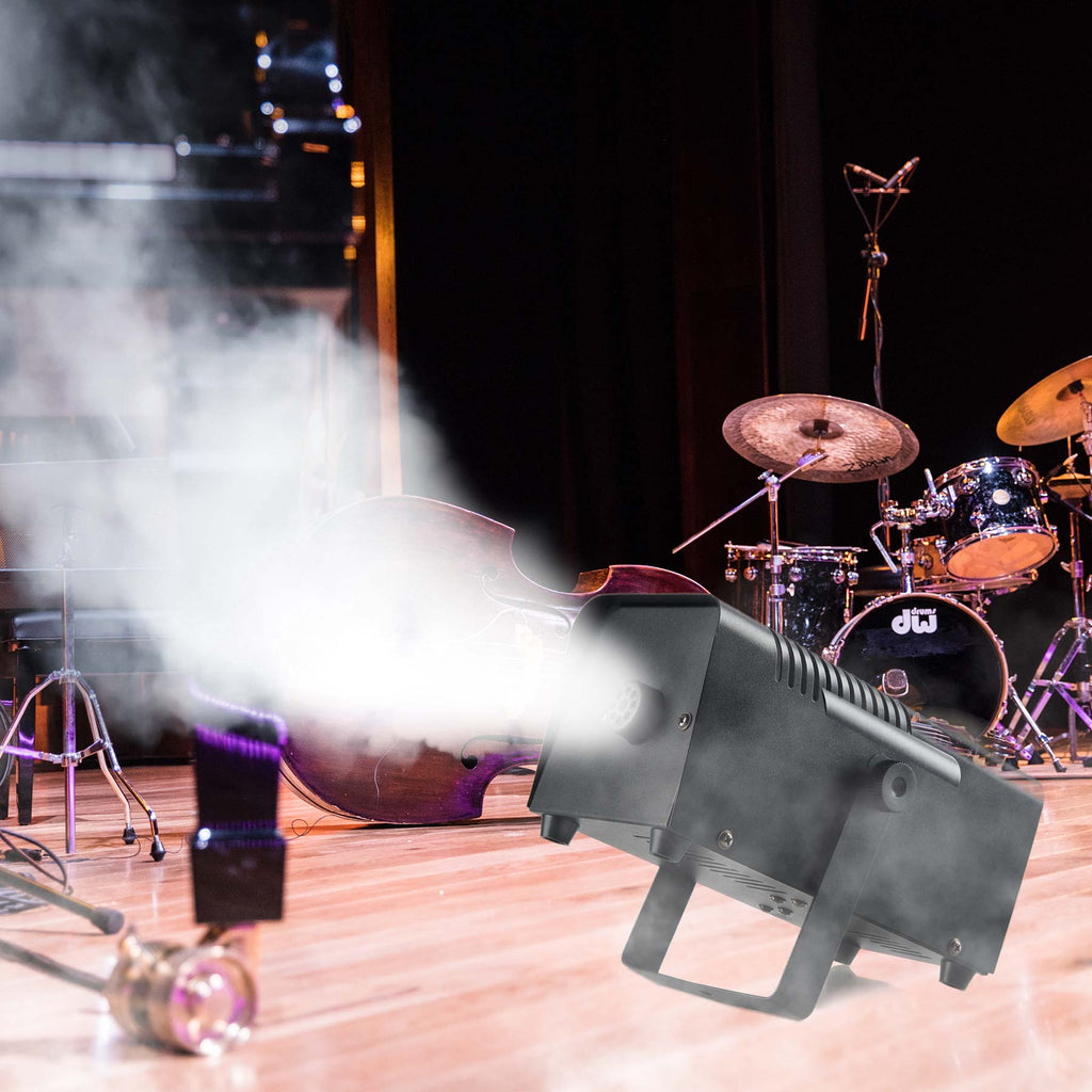400W Professional Smoke Fog Machine, Mini Portable Haze Machine Stage Effect Equipment - Kaiezen