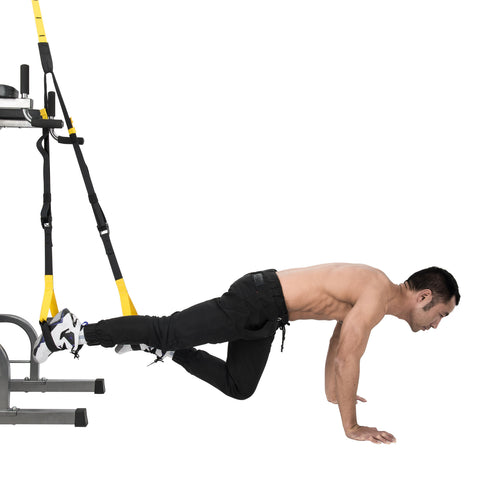 Suspension Trainer, Strength Training, Full Body Workouts Kit - Kaiezen
