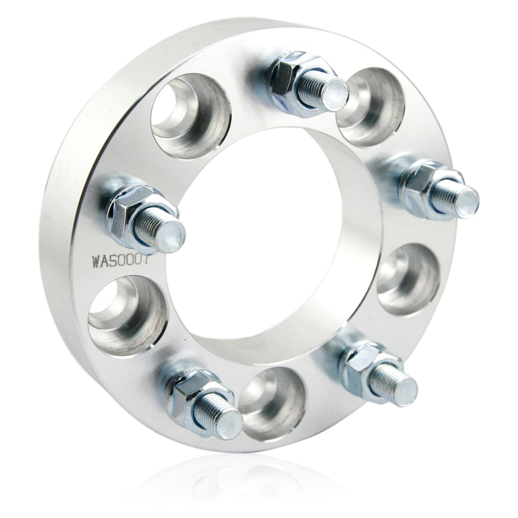 2pcs 5x4.7'' Wheel Spacers 1.25 inches with M1.5x12 Studs - Kaiezen
