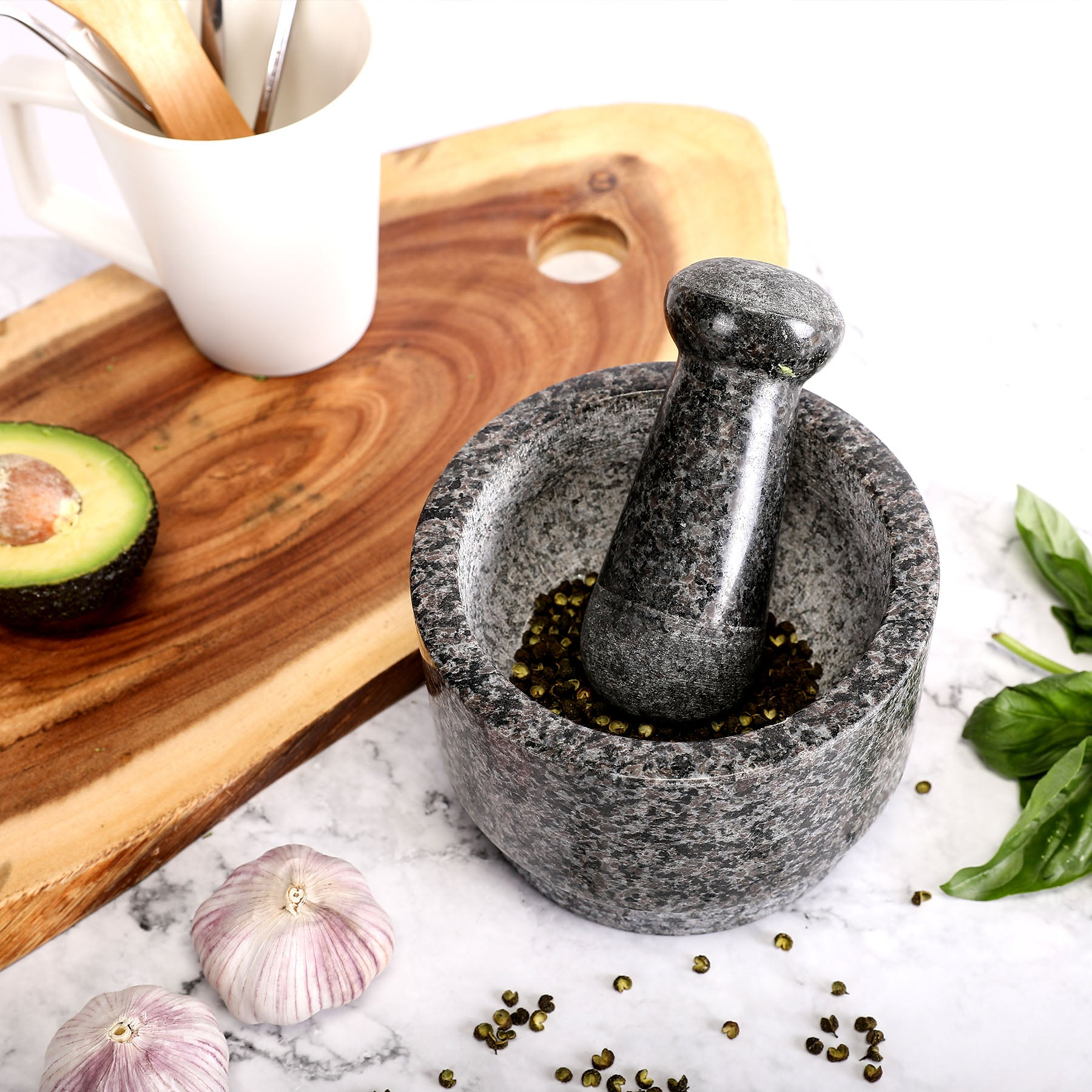 Granite Mortar and Pestle Set - Kaiezen