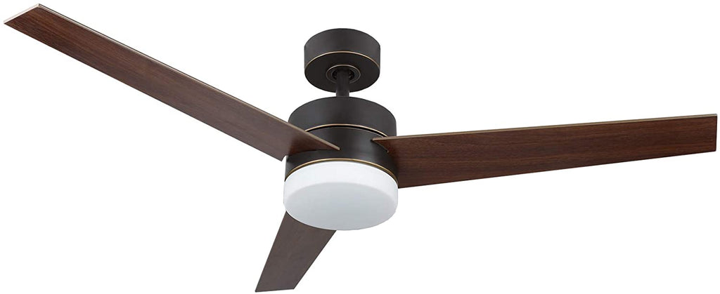 52 inch ceiling fan light with 3 fan blades (Old Bronze Finish) - Kaiezen