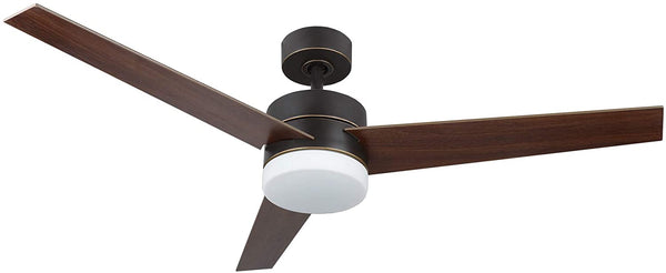 54 inch ceiling fan light with 3 fan blades (Old Bronze Finish)