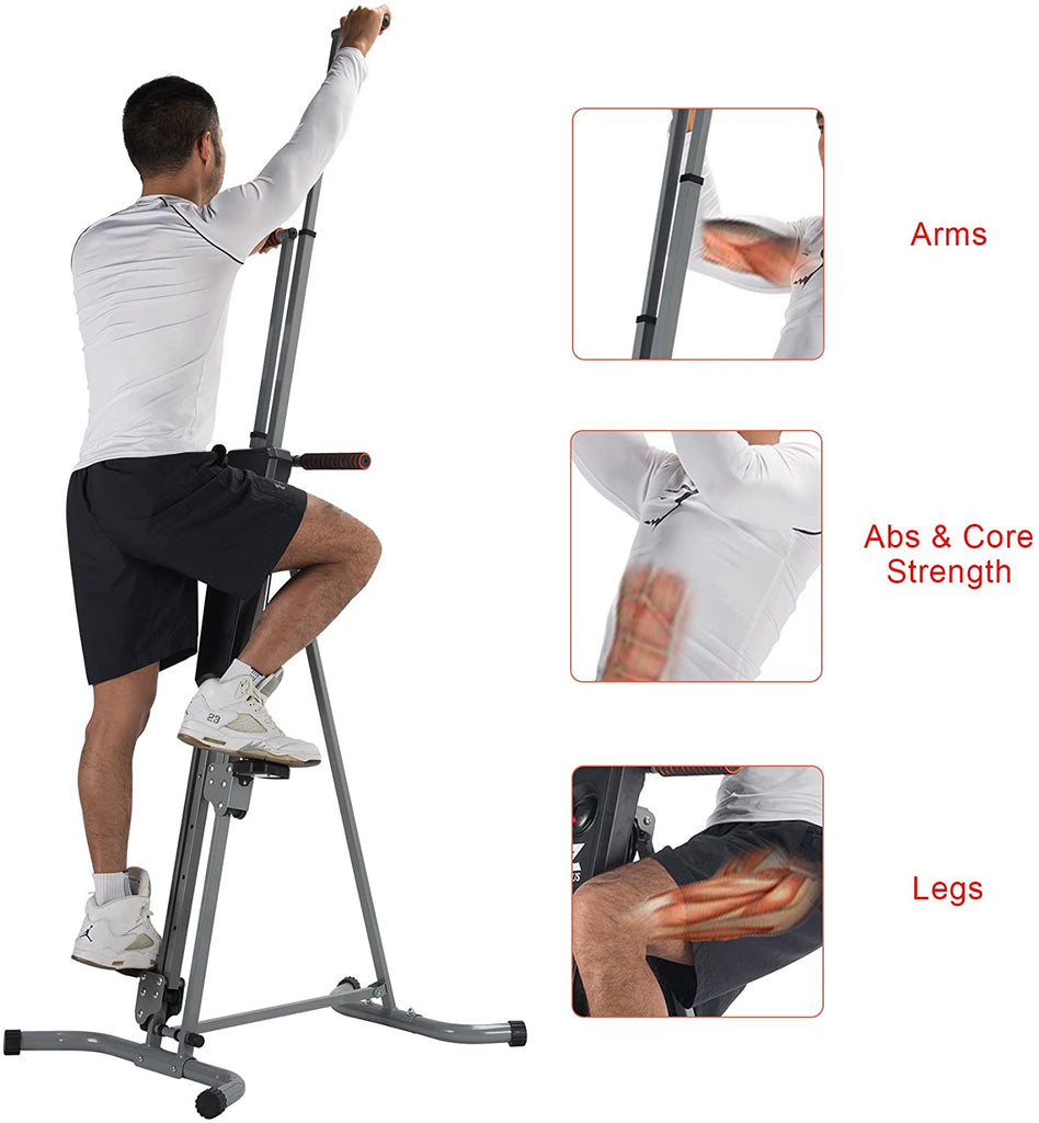 Vertical Climber Machine Fitness Step for Home Gym - Kaiezen