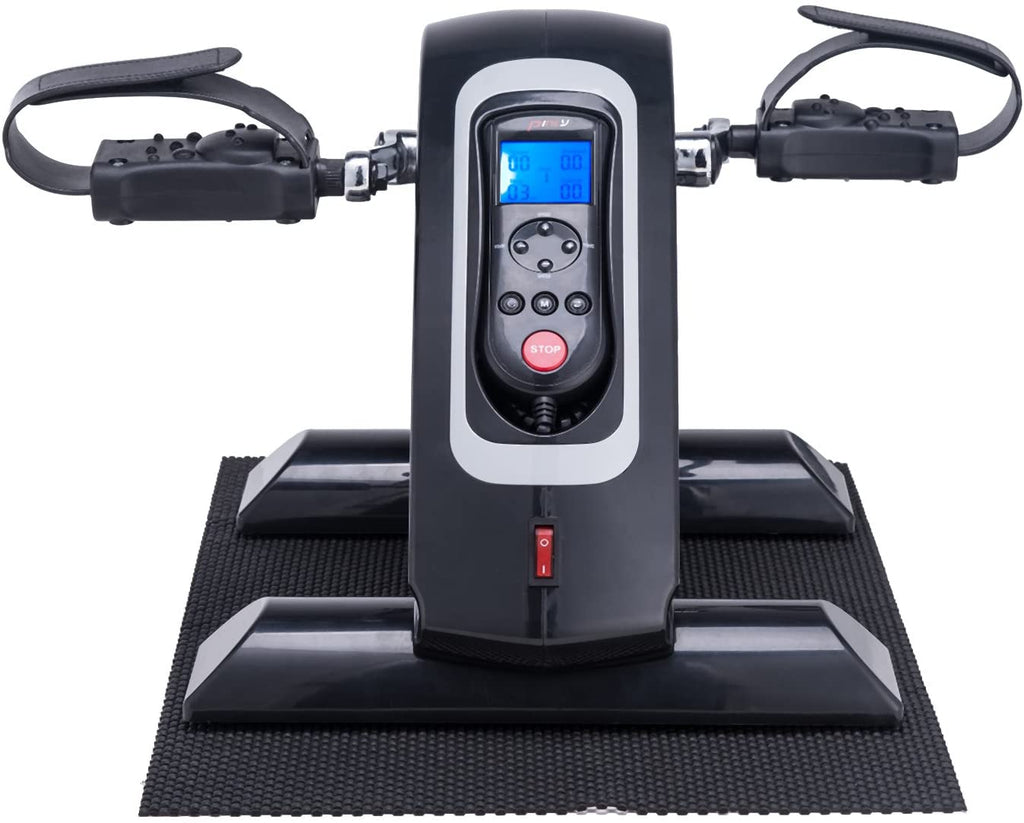 Mini Exercise Bike Pedal Exerciser LCD Screen Remote Control Arm/Leg Exercise (Upgrade) - Kaiezen