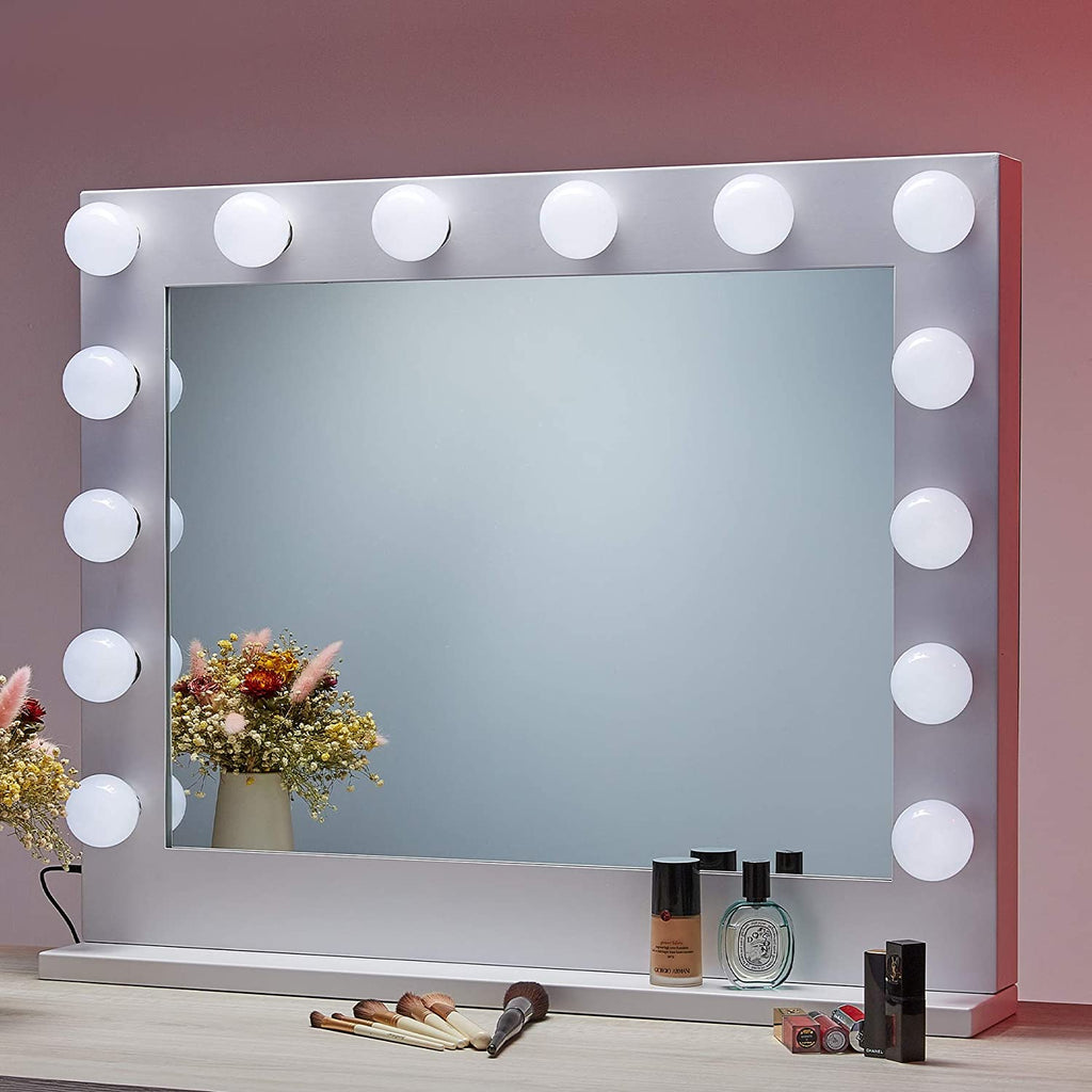 CO-Z Hollywood Makeup Mirror with Lights Dimmable - Kaiezen